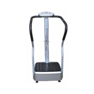 Brand New 2009 Crazy Fit Massager Vibration Plate Heavy Duty Exercise Machine w/ FREE Tummy Belt Waist Support
