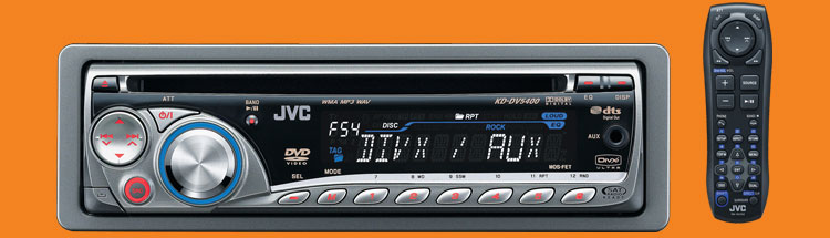 Jvc kddv5400 car dvd cd receiver 200watt ipod ready