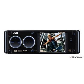 JVC KD-AVX1 Multimedia DVD CD Receiver