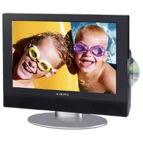 Audiovox FPE2006DV 20 inch Flat Panel LCD HDTV with AC/DC (12 VOLT), Built-In DVD Player, Card Port, and USB (DUAL VOLTAGE 110/220V)