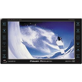 Power Acoustik PTID-6500 6.5-Inch Touch Screen In-Dash Motorized TFT Monitor with DVD