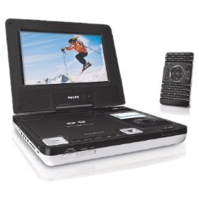 Philips DCP850/37 8.5-Inch Portable DVD Player with iPod docking