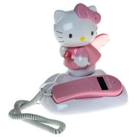 Hello Kitty Light-Up Corded Telephone - KT2010