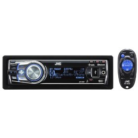 JVC KD-R900 30K Color-Illumination Single-DIN Flip-Down CD Receiver with Dual USB 2.0 for iPod/iPhone and Bluetooth