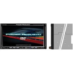 Power Acoustik PTID-7350NRBT 6.95-Inch In-Dash Widescreen TFT/LCD Monitor with DVD