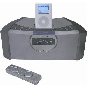 Emerson iTone iC200S Clock Radio for iPod (Silver)