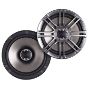 Polk Audio DB651s Slim-Mount 6.5-Inch Coaxial Speakers (Pair, Black)