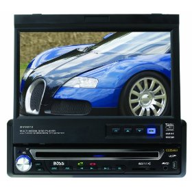 Boss BV9972 7-Inch Widescreen In-Dash Motorized Touchscreen TFT Monitor/DVD/MP3/CD Combo Receiver