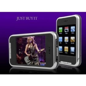 8GB MP3 Video Player with Touch Screen