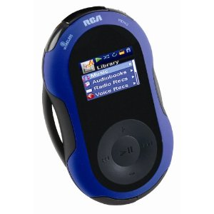 RCA S2501 Jet Stream Series 1GB Sport MP3 Player with Wireless Headphones