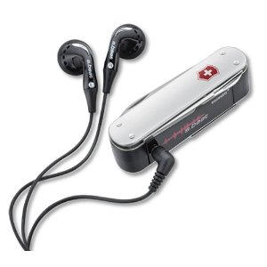 Victorinox SwissBeat MP3 Player 2GB Flight Version (Silver)