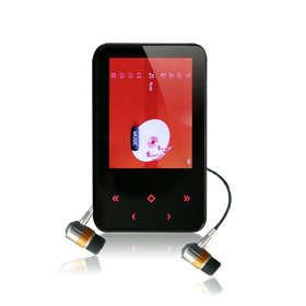 Latte Communications Neon 8 GB Video MP3 Player (Black)