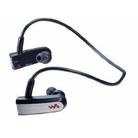 Sony Headphone-Style Walkman MP3 Player (Black)