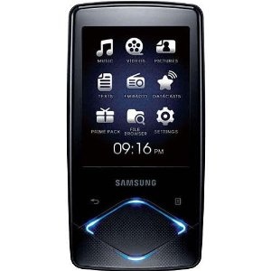 Samsung Q1 8 GB Video MP3 Player with Lighted Touchpad (Black)