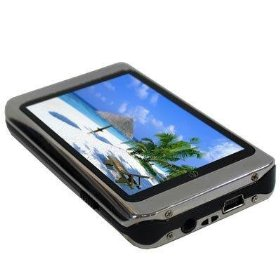 Visual Land V-Core 8 GB Video MP3 Player (Black/Silver)