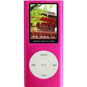 Aio-1.8-inch LCD 4g Mp4 Player-pink