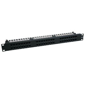48PORT CAT6 1U High Density Patch Panel 568A Or B