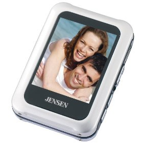 Jensen 2GB Digital Media Player with  Built-in Memory (Silver)