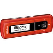 TrekStor i.Beat 72210 Sweez FM 1GB MP3 Player (Red)