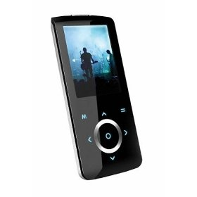 Coby MP705-2GBLK MP3 Player with 2-Inch TFT Color LCD, 2GB Flash Memory, FM and Touchpad Control (Black)