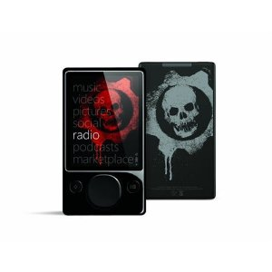 Zune 120 GB Video MP3 Player, Gears of War 2 Special Edition (Black)