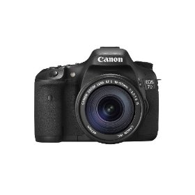 Canon EOS-7D Digital SLR Camera / Lens Kit, with Canon EF-S 18-135mm f/3.5-5.6 IS Auto Focus Lens