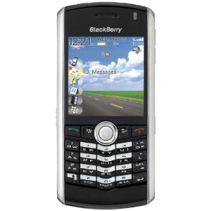 BlackBerry Pearl 8100 Refurbished Unlocked Phone with Camera and MicroSD Slot--International Version with 60-Day Warranty (Black)