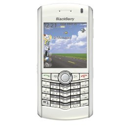 BlackBerry 8100 Unlocked Phone with GSM, 1.3 MP Camera and Email--International Version with No Warranty (White)
