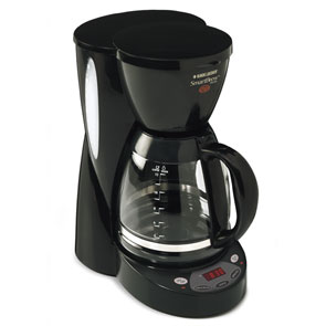 B&d dcm2500b black coffee maker 12cup program