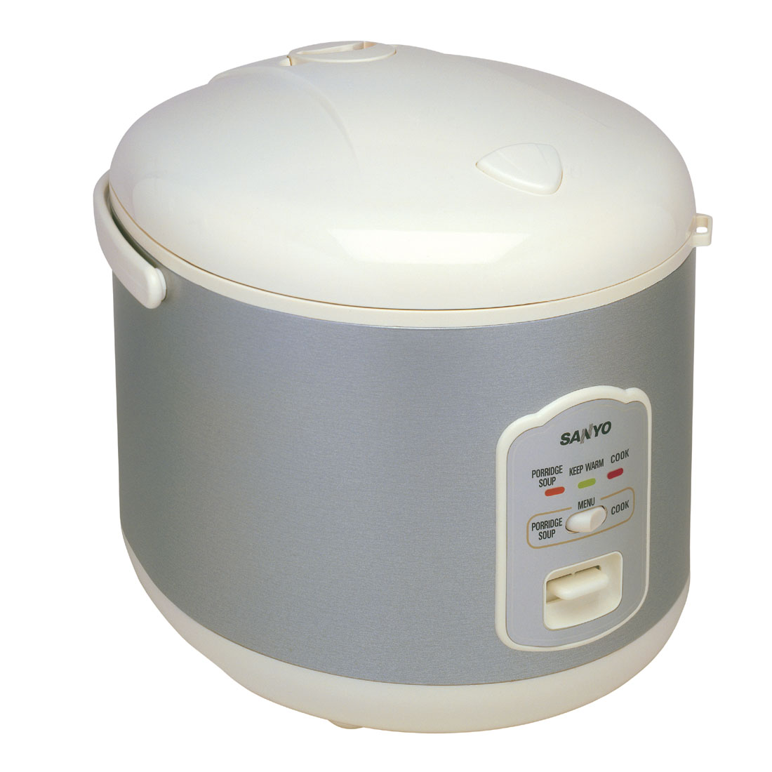 Sanyo ecjn100w white rice cooker 10cup soup function