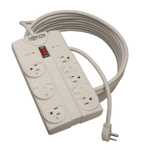 Tripp Lite TLP825 8-Outlet Surge Protector (1440 Joules, 25ft Cord)