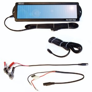 Sunforce 50013 1 Watt Motorcycle & Powersports Solar Battery Charger