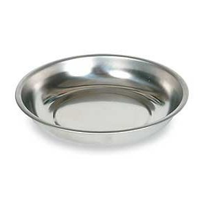 Westward 1EJZ2 Magnetic Tray, Round, Dia. 5 3/4 In