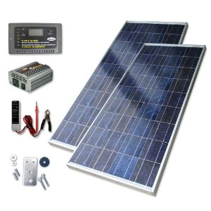 Sunforce 39126 246-Watt High-Efficiency Polycrystalline Solar Power Kit