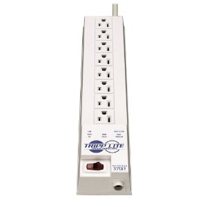 Tripp Lite SK6-6 Protect It! Surge Protector/Suppressor 8 outlets (4 Transformers) 8ft Cord 1200 Joules