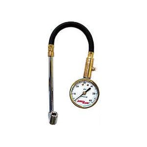 100 PSI Dual Foot Chuck Gauge for Truck Tires