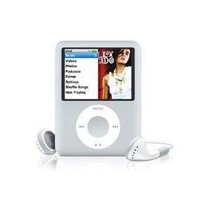 Apple iPod nano 8 GB Silver, Clamshell Package (3rd Generation) OLD MODEL