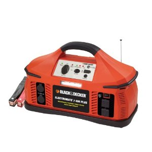 Black & Decker PS400JRB Electromate 400 Plus Jump-Starter with Built-In Radio