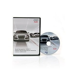 Audi Navi Map Update - DVD