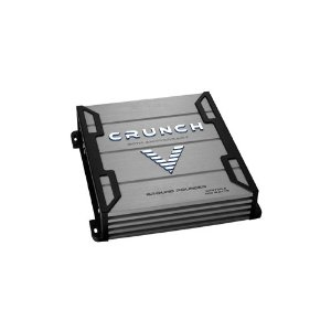Crunch Ground Pounder GPV700.2 700 Maxx Watt Power A/B Class Two Channel Amplifier (Silver)