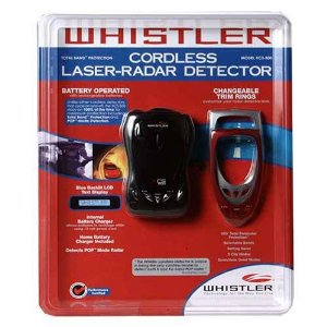 Whistler Cordless Laser-Radar Detector with POP Detection