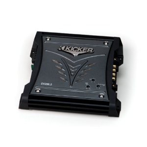 Kicker 08ZX2002 2X100-Watt Stereo Amplifier