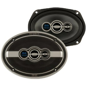 Hifonics Zeus ZXI693 6-Inch x 9-Inch 3-Way Speakers