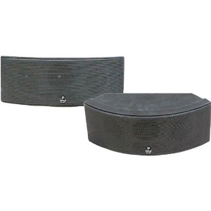 Pyle - 500 Watt 3 Way Black Indoor/Outdoor Waterproof Center Channel Speaker (Black)