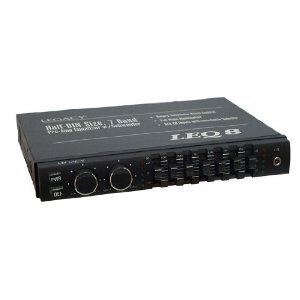 Legacy LEQ8 7 Band PreAmp Equalizer with Subwoofer Boost Control