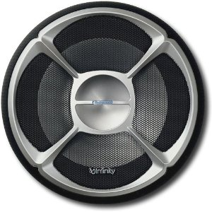 Infinity Reference 6020cs 6.5-Inch Two-Way Component System (Silver/Black)