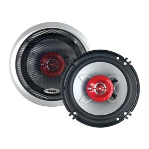 BOSS CH1623 3-Way 4-Ohm 6-1/2-Inch Poly Injection Cone Speaker