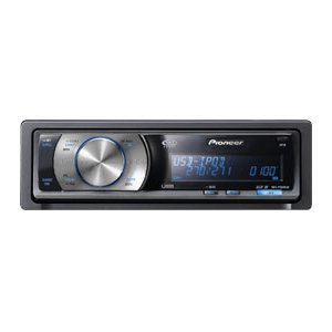 Pioneer DEH-P5000UB In-Dash CD Receiver - OEL Display, iPod Compatible (Open Box)