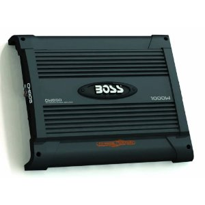 BOSS CW650 CHAOS WIRED 1000 Watts 4-Channel Mosfet Power Amplifier with Subwoofer Level Control