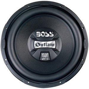Boss Audio LAC129D 12-Inch Dual 4-Ohm Voice Coil Subwoofer - Single